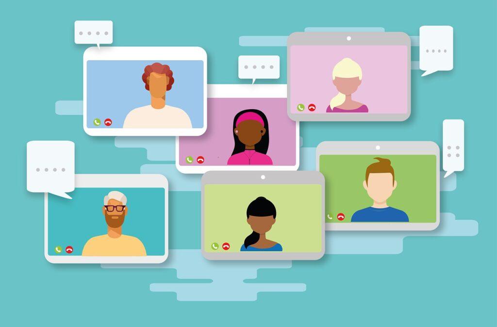 Video Conference Meeting Online  - Alexandra_Koch / Pixabay