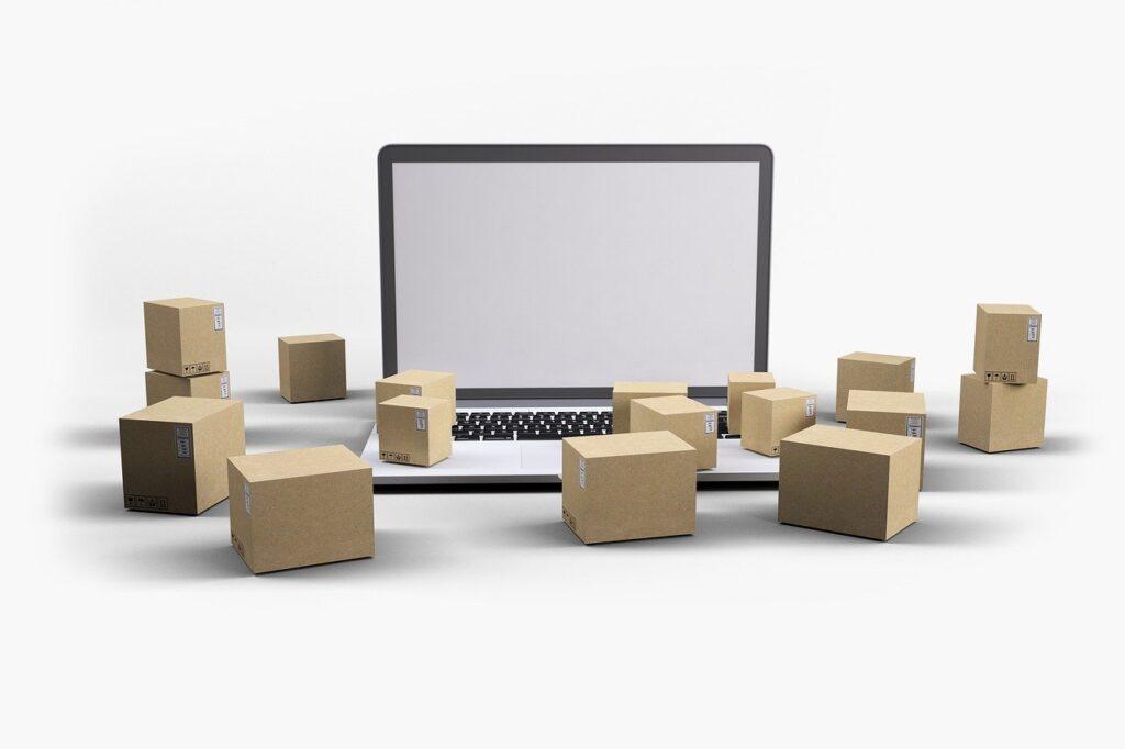 Delivery Boxes Laptop  - Mediamodifier / Pixabay