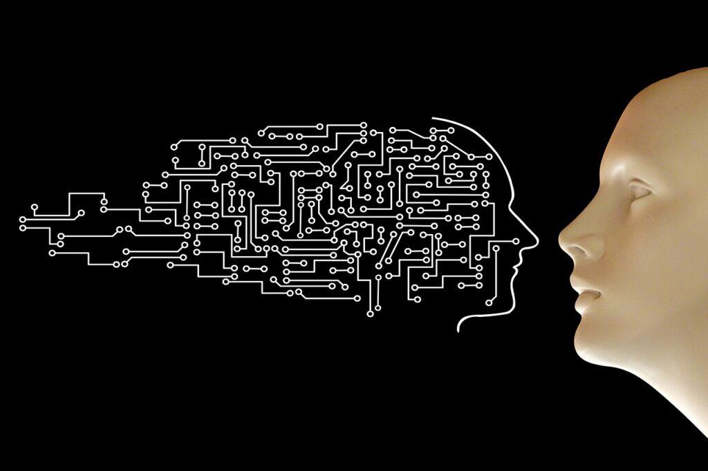 Circuits Human Face Digitization  - geralt / Pixabay